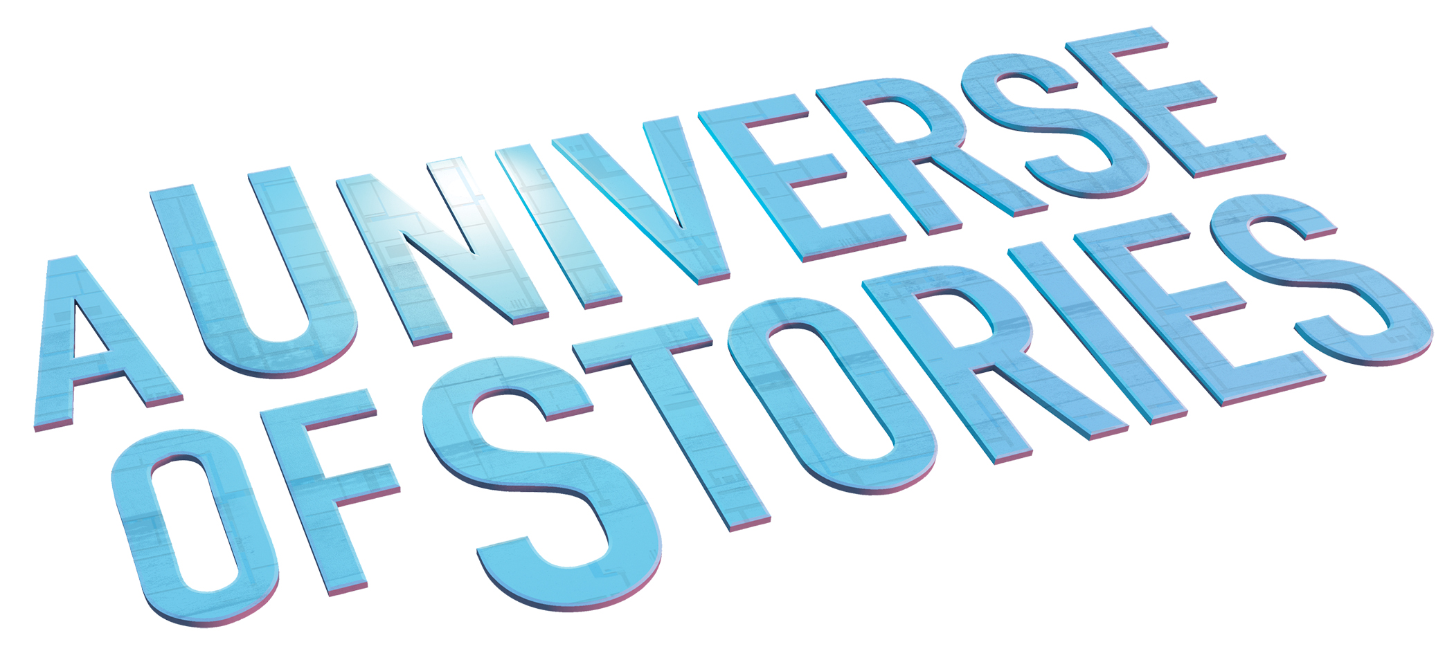 A Universe of Stories slogan