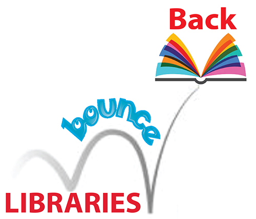 Libraries Bounce Back graphic