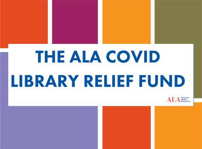 ALA COVID Library Relief Fund Graphic
