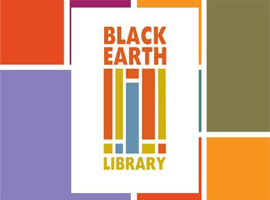 Black Earth Library logo