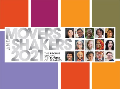 Library Journal Movers & Shakers Graphic