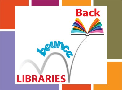 libraries bounce back logo