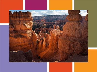 Photo of Bryce Canyon.