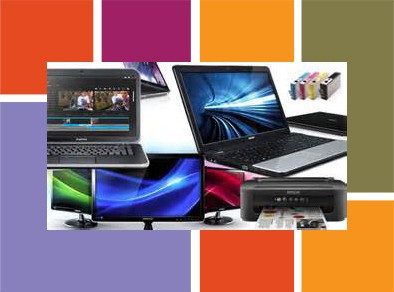 computers & printers graphic